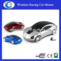 2.4g wireless racing car mouse with customized logo printing