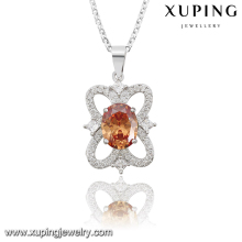 32717 XUPING lovely princess pendant muticolor diamonds goddess pendant female design