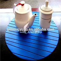 Factory low price with high quality china supplier Heat insulation EVA table mat
