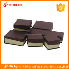 High end made in china gift box jewelry cardboard packaging