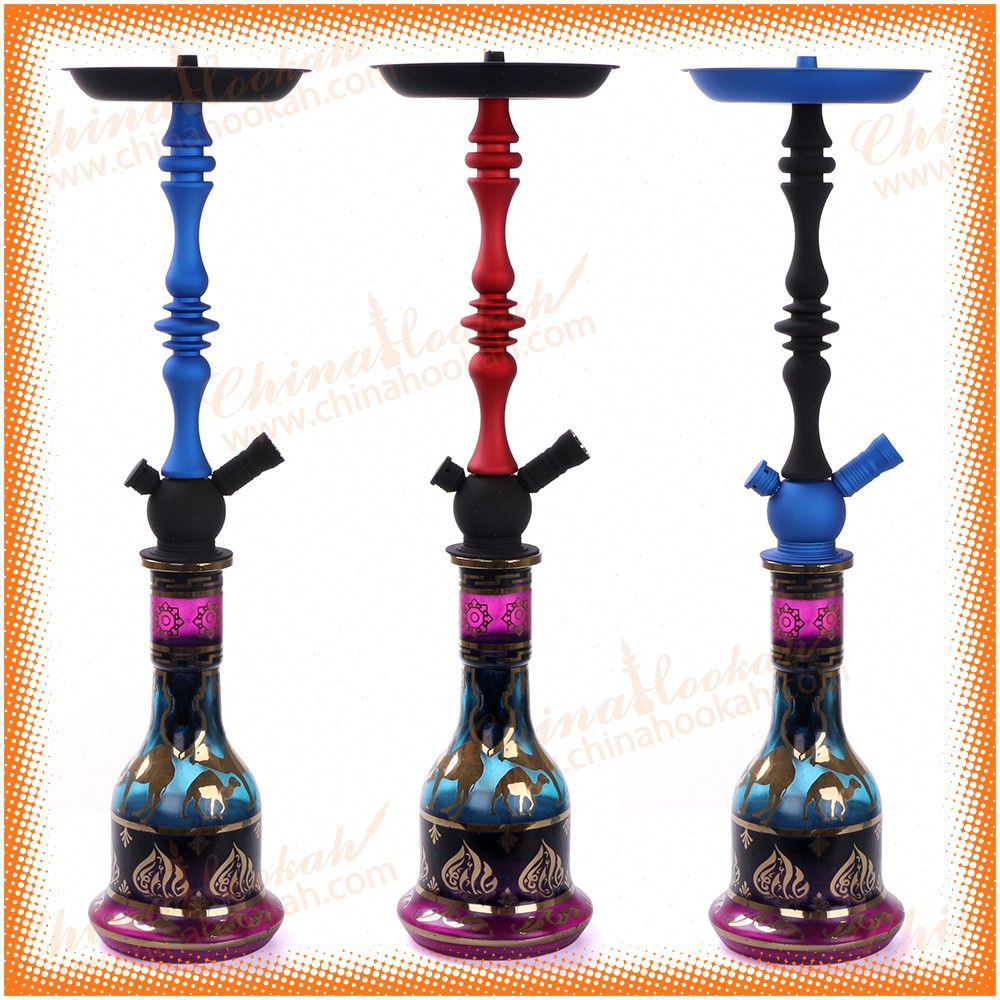 New arrival contrast color egyptian shisha hookah wholesale