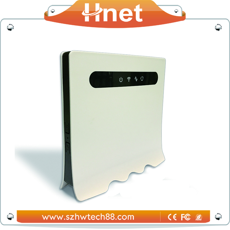 Wholesale Alibaba 300Mbps 4G LTE Indoor Wireless Wifi CPE Router with Sim Card Slot
