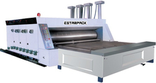 ESTARPACK Corrugated Carton Box Semi Automatic Flexo Printing Slotting Rotary Die-Cutting Machine