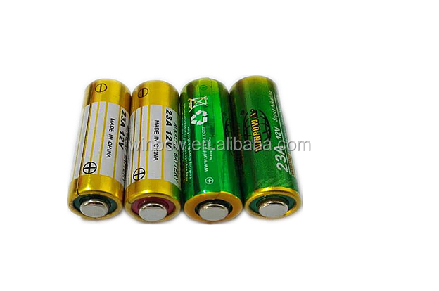 Chinese supplier manufacturer 12V 23A primary battery plant for remote control and door bell