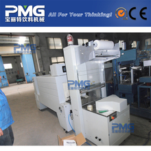 Well received plastic bottle shrink packing machine / bottle shrink wrap machine