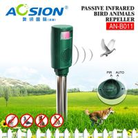 Aosion Automatically PIR Detection Sonic Wave Repel Animal plastic bird spike