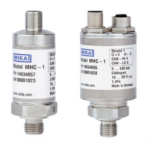 High performance WIKA Pressure Transmitter for Mobile Hydraulic Applications Model MHC-1