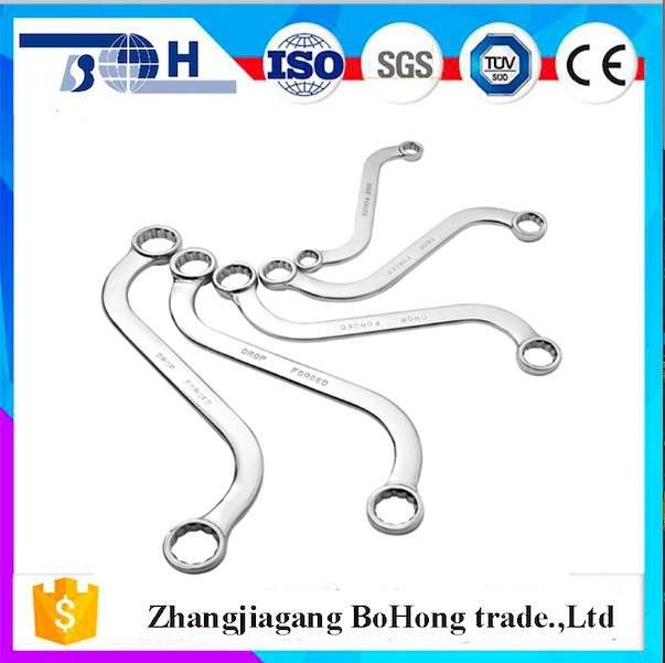 Quality assurance for CR-V material bent box end wrench