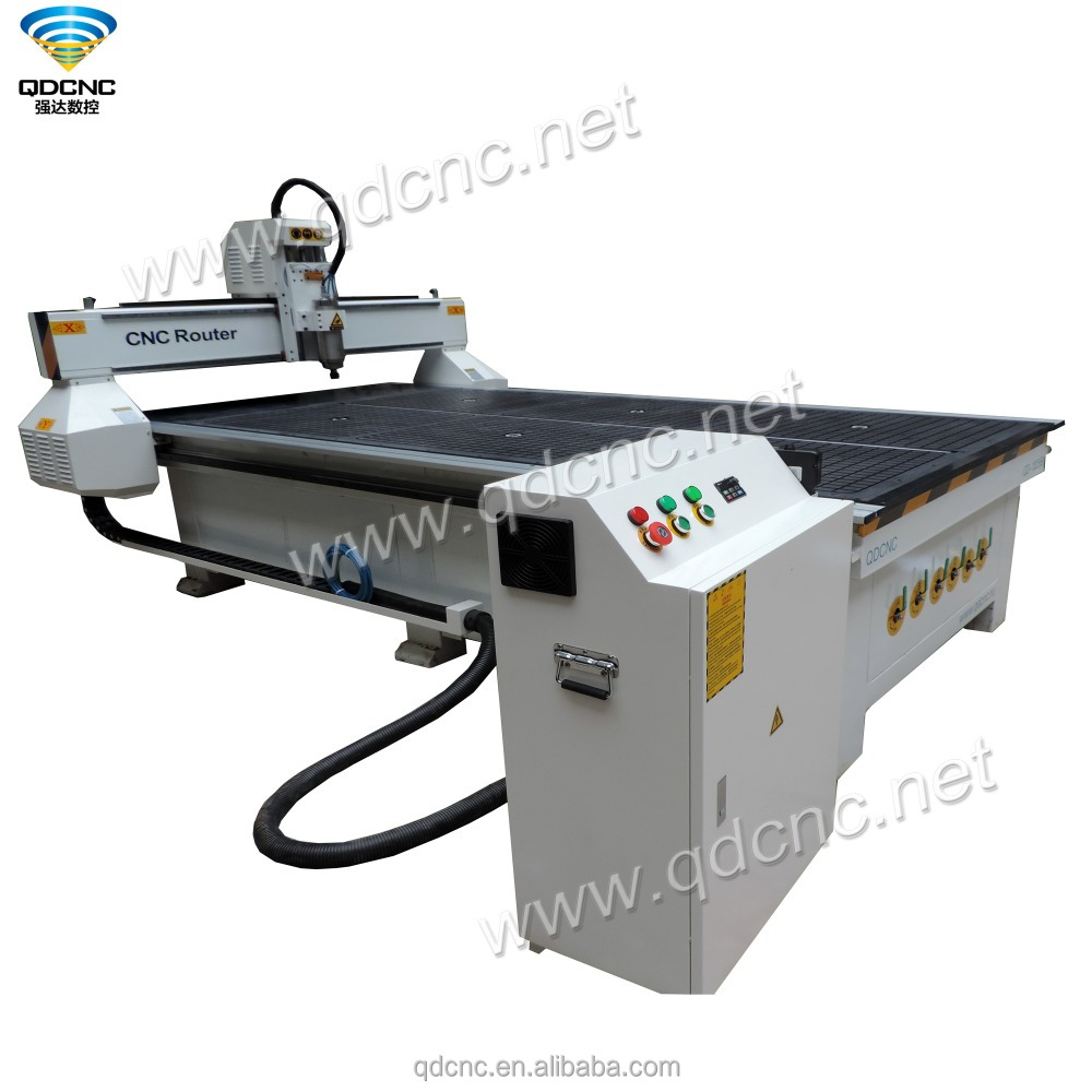 automatic wood carving machine DSP controlled cnc router 4*8 feet QD-1325B