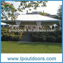Practical pole tent--pvc tarpaulin for tents