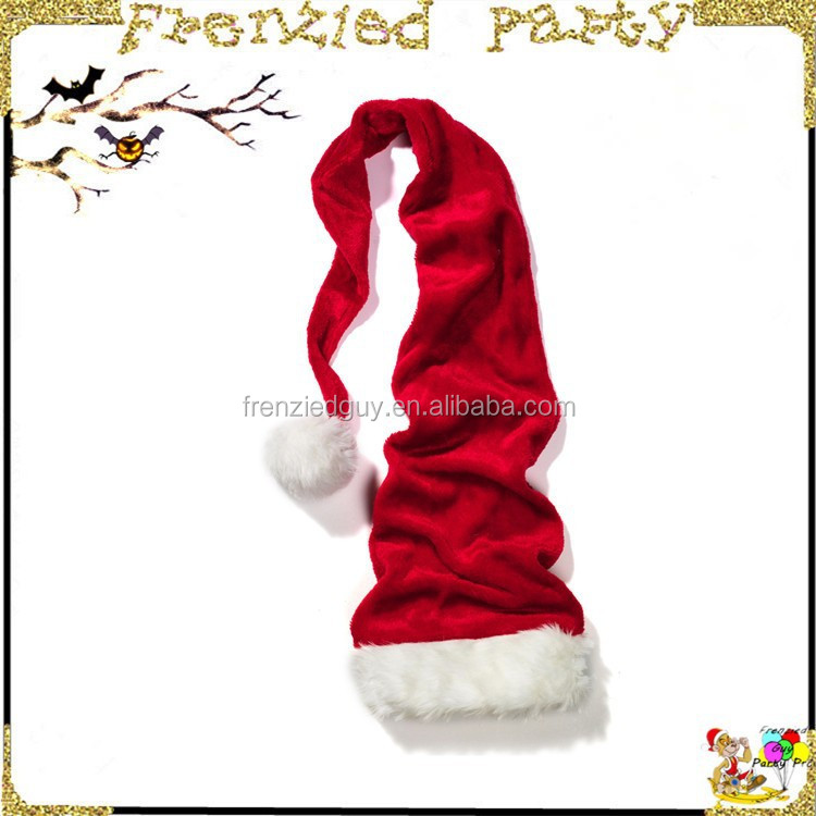 wholesale christmas funnu crazy red santa hat