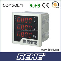 96 Type Single phase AC Power Digital Voltage and Ampere Meter (RH-UI33)