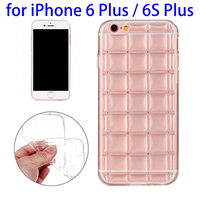 NEW Transparent Grid TPU Protective Phone Case for iPhone 6 /6s