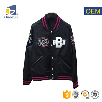 custom bomber woman waterproof winter jackets