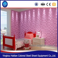 Wholesale Stylish Wallcovering Waterproof PVC 3D Wall Panel for Bathroom