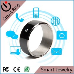 Smart Ring Jewelry Black Lacquer Luxury Diamond Gold Plated ring in Leather Jewelry Box