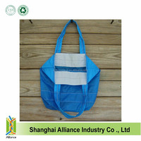 Super Strong Ripstop Nylon Grocery Shopping Foldable Tote Bag