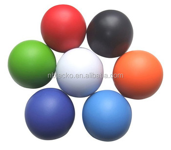 Promotional PU foam stress ball anti stress reliever soft ball