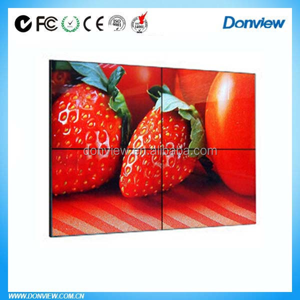 china 46 inch video wall software with video wall mount