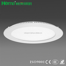 ultra thin design slim 3W 6W 18w SMD round led ceiling panel down light