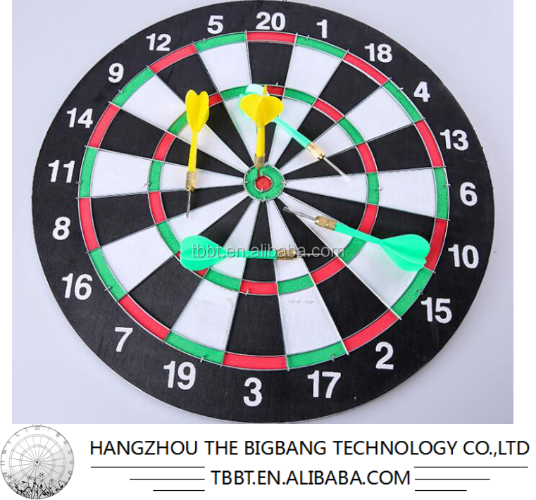 BIGBANG SPORTS Magnet datrboard,Magnetic dart,12inch,15inch,17 inch dart board with 6 darts,4darts, Double sided