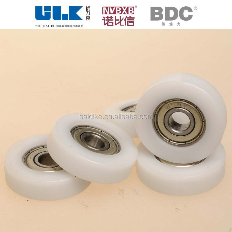 stainless steel nylon/pom/pu orientation wheel/roller/pulley made in China