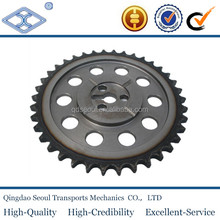 DIN 8187 ISO/R 606 material C45 weld on hub 08b-2 pitch 12.7 roller 8.51 38T douplex driven chain sprocket 1/2*5/6