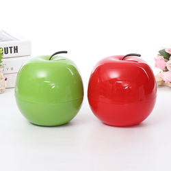 Apple shaped Plastic fruit Candy Dish Container snack nuts tray plate bowl organizer