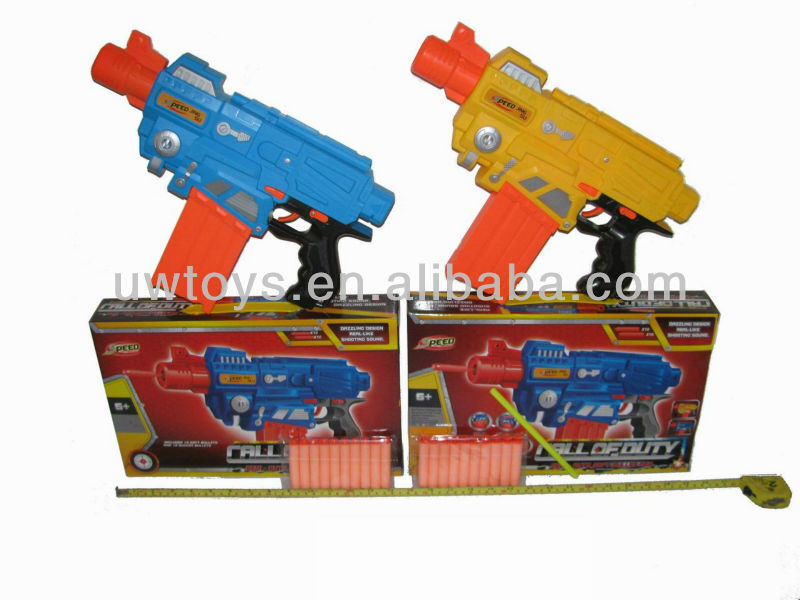 soft bullet gun,electric toy gun,battery operated gun toy,b/o toy gan