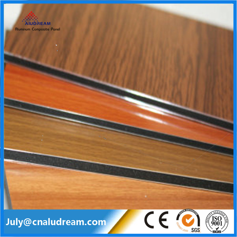 Exterior aluminum composite wall cladding panels 5mm dibond