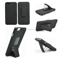 Durable Hot Special Back&Front Protective Kickstand Hard Case For Iphone 6 Plus