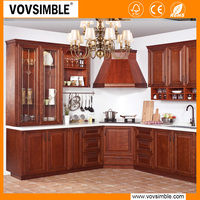 VOVSIMBLE Solid Wood American Style Kitchen Cabinets