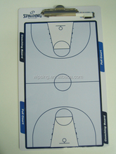 basketball coach A4 clipboard with pen holder