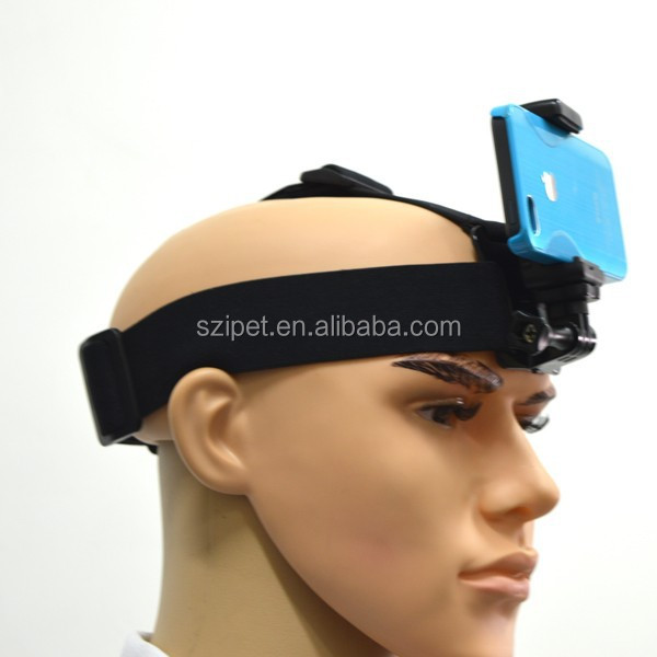 Head Phone, Phone head mount strap for Iphone and Andriod,Phone head strap
