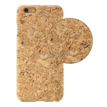 Snap On Hard Natural Wood Cork Case for iPhone 7/8