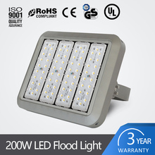 Made in CHINA 2017 retrofit led module flood light 200W CE ROHS UL Standard