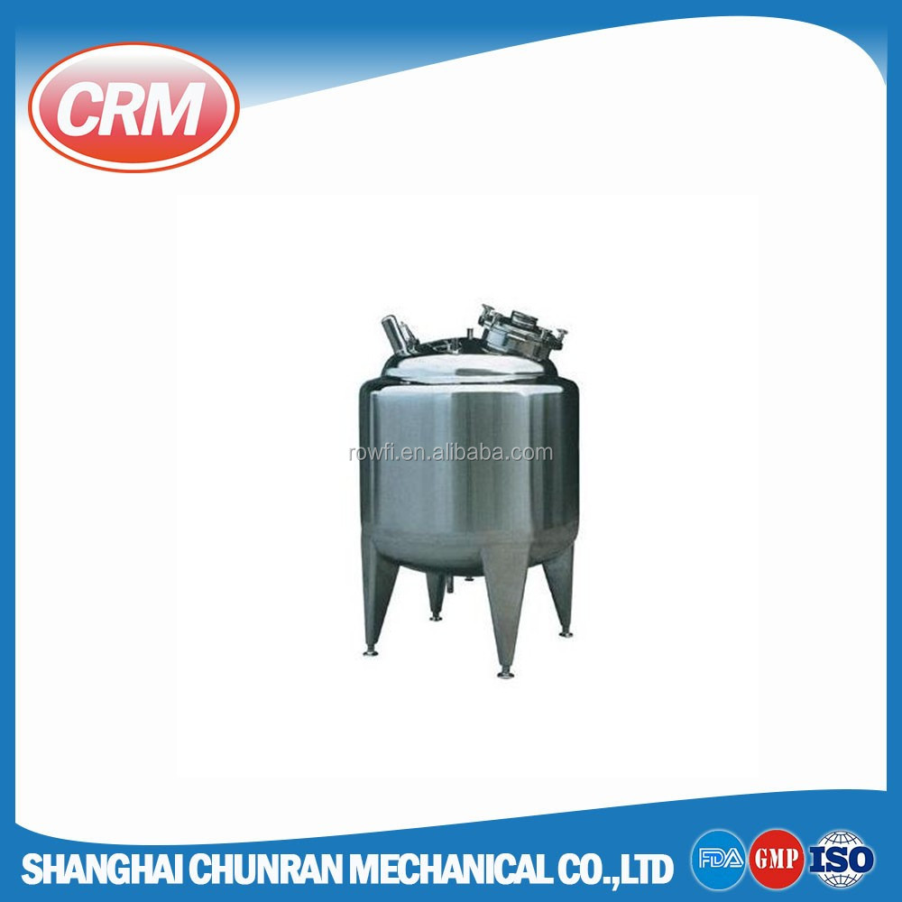 3000 liter stainless steel water tank with temperature sensor