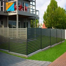 Decorative modern house fence and gate design