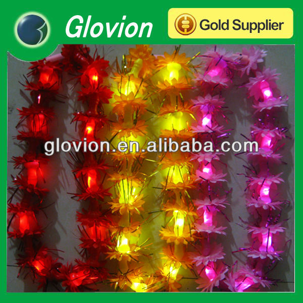 Hawaiian lei light up hawaiian leis led glow hawaiian leis