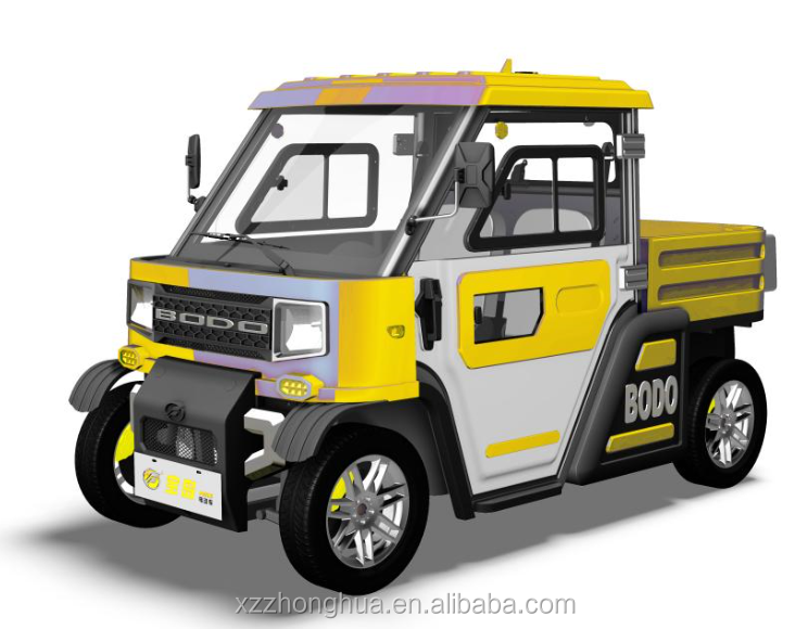 Chinese cheap new design electric pickup truck for cargo