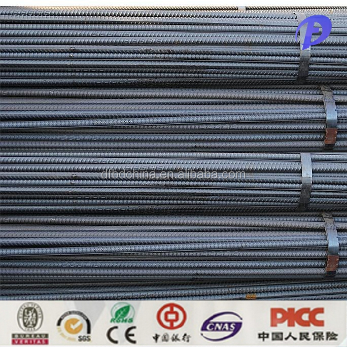Cheap export high tensile twisted deformed steel bar all size rebars