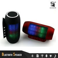 professional sound system colorful disco light speaker with bluetooth
