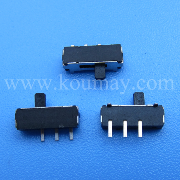 1p2t mini dip slide switch 3 pin