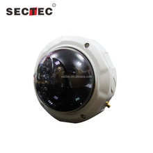 SECTEC Metal Detector 3.6mm Fixed Lens ONVIF P2P Full HD 1080P Dome IP Camera With CE and RoHS Certificate