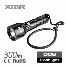 D06 XM-L2 U2 Led 900lm diving super torch flashlight shenzhen