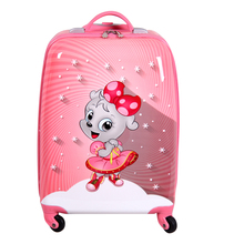 ABS And PC Cute Travel House Luggage Box Carry on Luggage