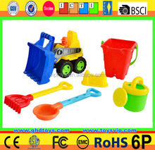 beach toys set,beach shovel toys,bucket beach toy bucket 6pcs summer fun gifts plastic beach pails shovels outdoor toy for kids