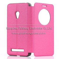 5 inch folio leather case for ASUS Zenfone 5