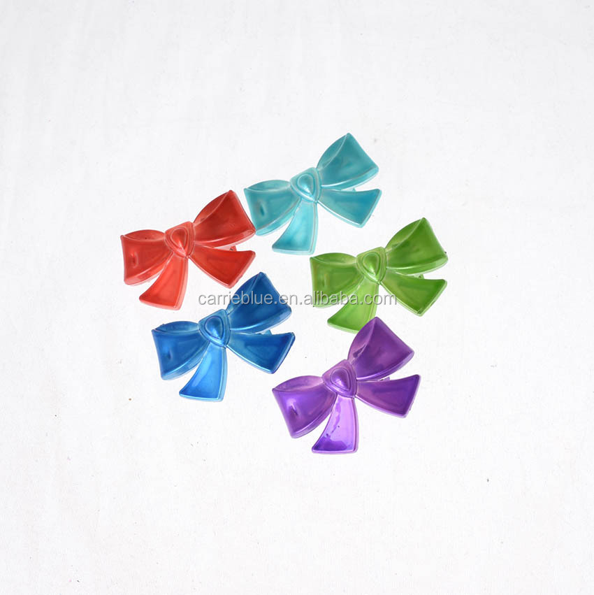 Kids colorful plastic small butterfly hair clip for thick hair.