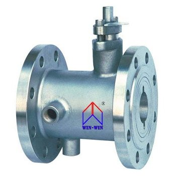 Jacket Ball Valve one-piece body type